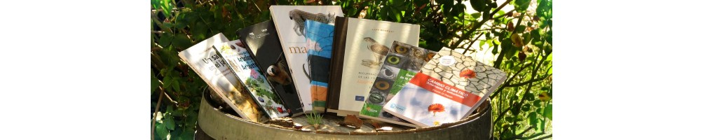 Selección de libros de temática naturalista y ecológica, guías de naturaleza, científicos, infantiles o de fotografía
