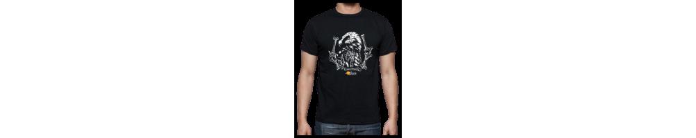 Camisetas, sudaderas y gorras con motivos relacionados con GREFA y sus proyectos