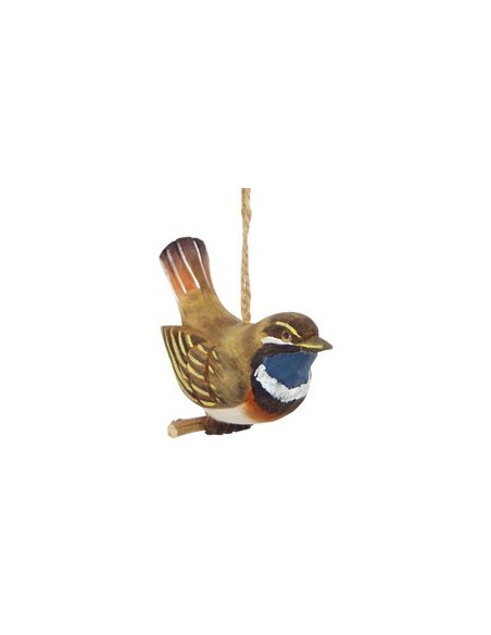 Colgantes de aves en madera