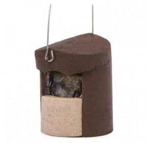 Caja nido para PETIRROJO y...