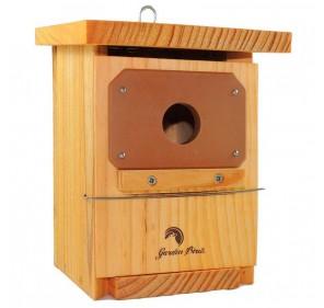 Caja nido paseriformes tratada y protegida (colgada)