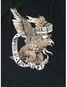 Camiseta Born To Be Wild...