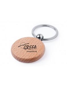 Llavero de madera GREFA