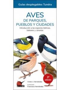 Aves de parques, pueblos y...