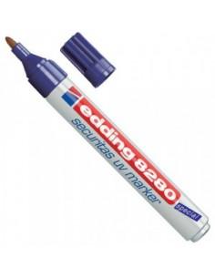Marcador Edding UV...