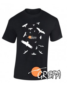 Camiseta unisex siluetas GREFA